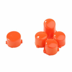 Xbox One Controller Button Set Polished Glossy Orange