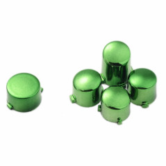 Xbox One Controller Button Set Chrome Green