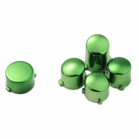 Xbox One Controller Button Set Chrome Green