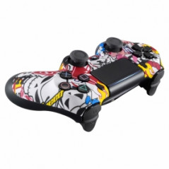 PS4 Dualshock 4 V2 Front Faceplate Art Series Sticker Bomb