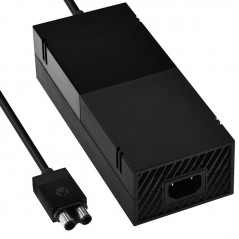 XBOX ONE ORIGINAL POWER SUPPLY 200-240V BLACK NO PACKING ( Pulled )