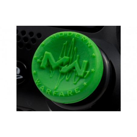 PS4 Controller Raised Thumbstick FPS Call of Duty Modern Warfare Analog Extenders Green 1 Pair