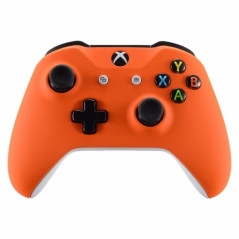 XBOX ONE S Controller Front Faceplate Soft Touch Orange