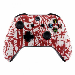 XBOX ONE S Controller Front Faceplate Art Series Blood Sacrifice