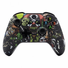 XBOX ONE S Controller Front Faceplate Art Series Halloween
