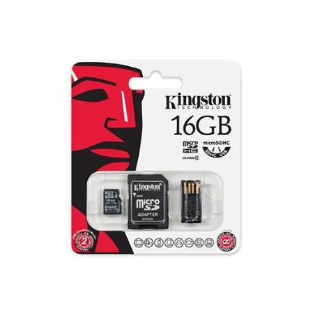 Kingston Micro SD Card 16GB Value Bundle