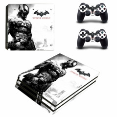 PS4 PRO CONSOLE VINYL SKIN COMPLETE KIT KNIGHT