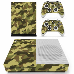 XBOX ONE SLIM VINYL SKIN JUNGLE CAMOFLAGE