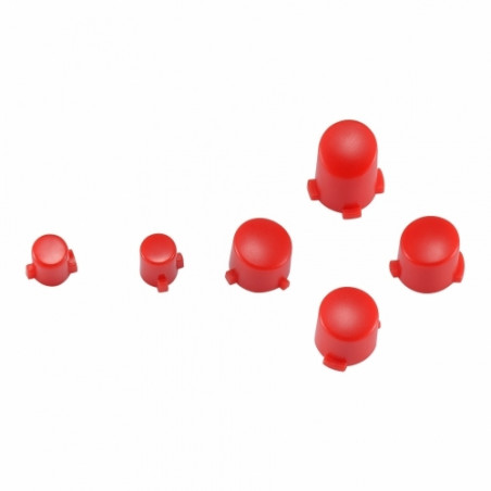 Xbox One S Controller Button Set Matte Red