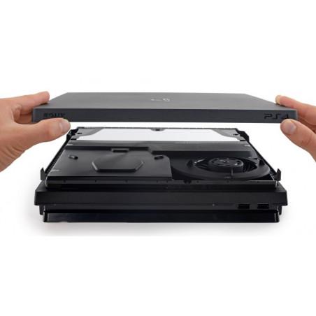 PS4 Slim Console CUH-2000 Replacment Top Housing Black