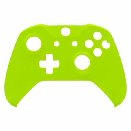 XBOX ONE S Controller Front Faceplate Soft Touch Neon Lime