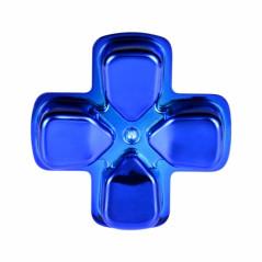 PS4 DS4 Dualshock 4 D-PAD Chrome Blue