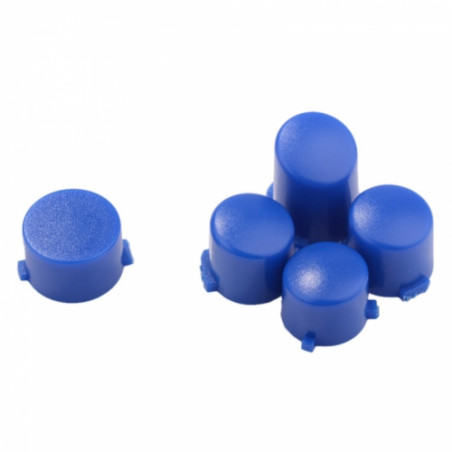Xbox One Controller Button Set Matte Solid Blue