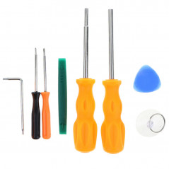 7PCS 3.8mm 4.5mm T8H Screwdrivers Set for Video Game Console Repair