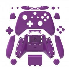 XBOX ONE S Controller Full Shell Series Matt Purple