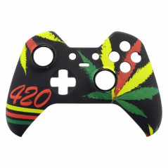 Xbox One Elite Controller Front Faceplate Art Series 420 culture