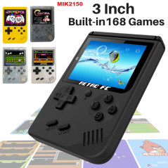 Retro 8BIT Handheld Video Game Console with 168 Games