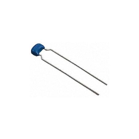 Ceramic capacitor 47nF Radial X7R 100V 5mm
