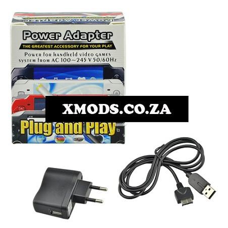 PS Vita Power Adapter + USB Black