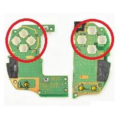 PS Vita / PSVITA 2000 Original D-Pad Button / Action Button Switch on Left Right Control Board