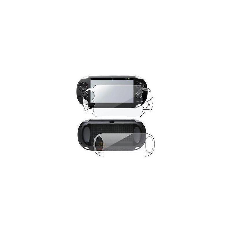 PSVITA HORI Anti-Scratch Front & Back Skin Protector Film 2 Pcs Set