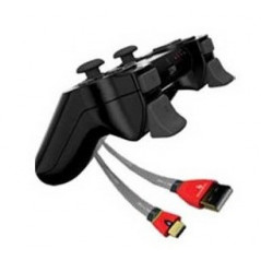 Gioteck PS3 Play and Charge Pack