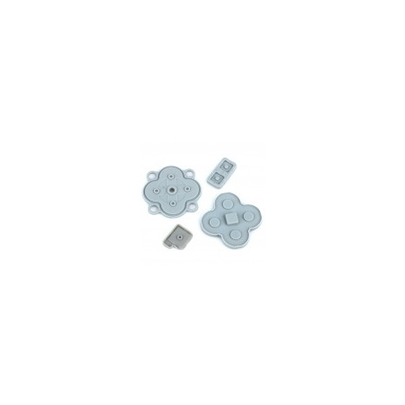 DSi LL Rubber Conductive Button Pad Set Replacement