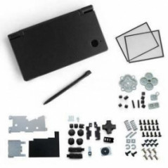 DSi Full Housing Shell Case Replacement Black