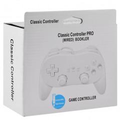 WII / WII U CLASSIC CONTROLLER PRO WHITE