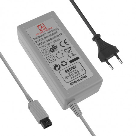 PROJECT DESIGN AC ADAPTER FOR WII EURO PLUG PREOWNED