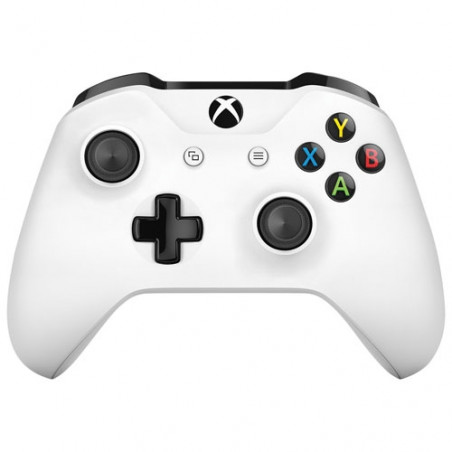 Xbox One S Wireless Controller White + 3.5mm stereo headset jack + Bluetooth NEW