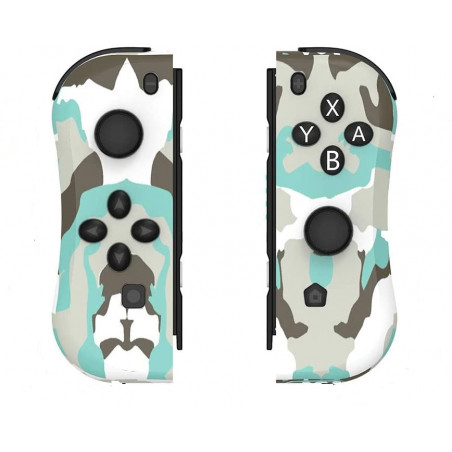 Nintendo Switch Left and Right Wireless Joycon Controller Camouflage
