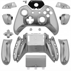 XBOX One Controller Full Shell Kit Series Chrome Silver