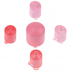 X360 Controller ABXY Guide Button Set  Pink
