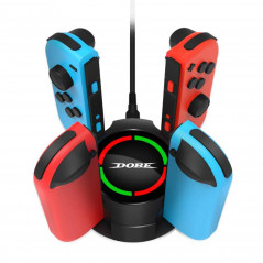 NS Switch DOBE Joy Con 4 in 1 Controller Type C USB  Charging dock