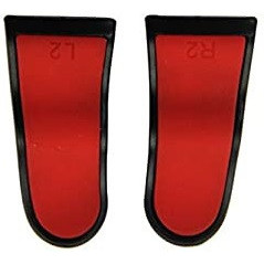 PS4 DS4 Extended L2 / R2 FPS Trigger Cap Pro Red
