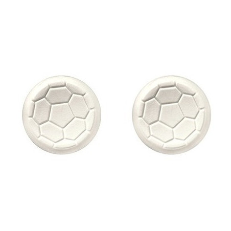 PS4 Controller Raised Thumbstick FUTBOL Analog Extenders White