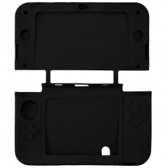 3DS XL SILICON PROTECT CASE  BLACK