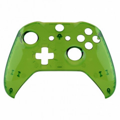 XBOX ONE S Controller Front FacePlate Transparent GLOSSY GREEN