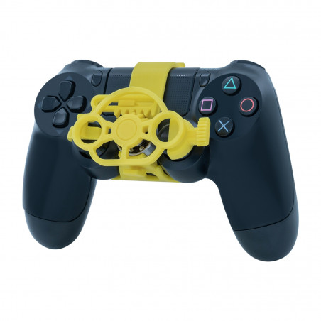 PS4 DUALSHOCK 4 CONTROLLER BLACK PROJECT DESIGN PROFESSIONAL SKIDPROOF GRIPS