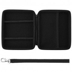 2DS AIRFOAM POUCH BLACK FOR NINTENDO 2DS