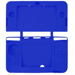 NEW N3DS SILICON PROTECT CASE FOR NINTENDO NEW 3DS BLUE