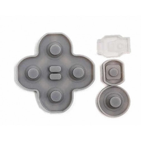 NS switch Lite Right Conductive Rubber ABXY Set