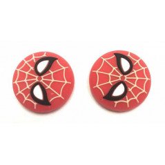 Nintendo SWITCH Captain Silicone Thumbstick Caps Spidey