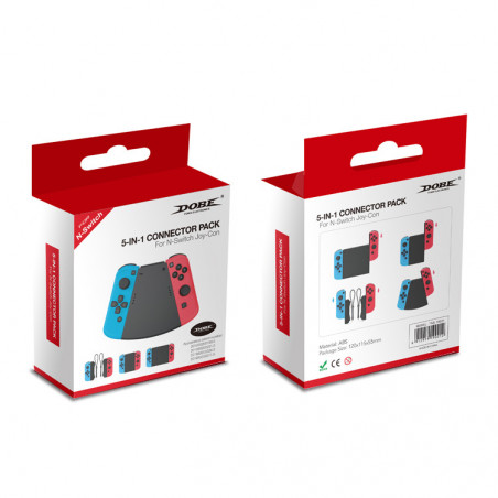 NS Switch Joycon Controller 5in1 Slide Connector Pack