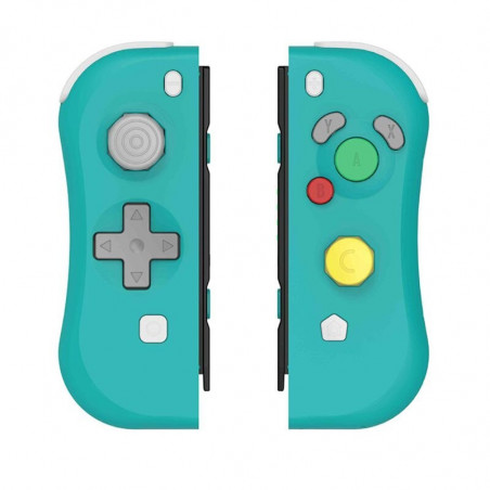 NS switch Console Left and Right Wireless Joycon Controller NGC Style Green