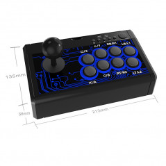 Dobe 7 in one Arcade Fighting Stick for Nintendo Switch , PS4 , PS3 , Xbox One , X360
