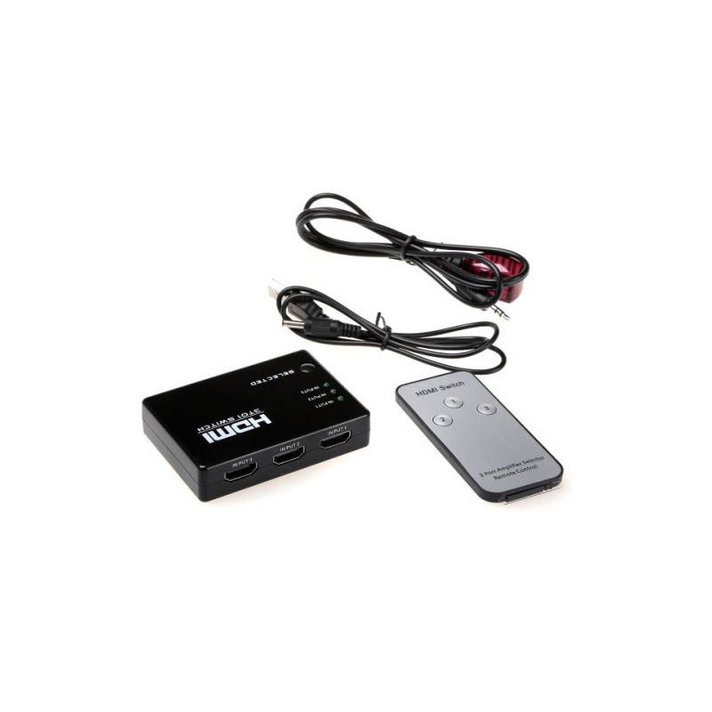 HDMI Switch 5 In 1  Support 1080p with Remote Control