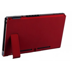 NS Switch Console Backplate With Kickstand Soft Touch Vampire Red