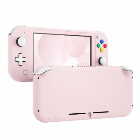NS Switch Lite Complete Shell Kit Soft Touch Sakura Pink